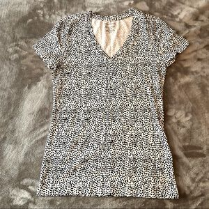 Lord & Taylor NWOT Woman's spotted t-shirt size XS